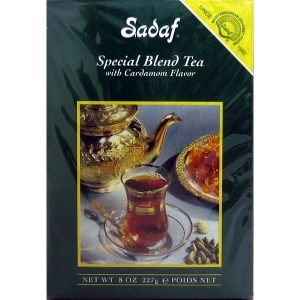 Sadaf Special Blend Tea with Cardamom 8 oz.