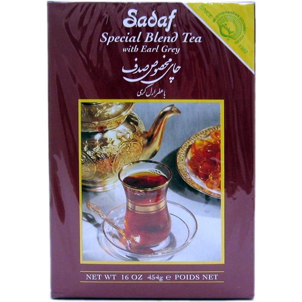 Sadaf Special Blend Tea with Earl Grey 16 oz.