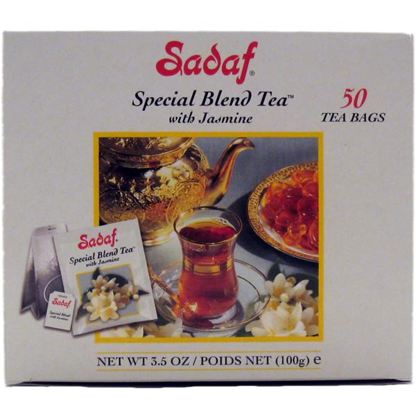 Sadaf Special Blend Tea with Jasmine 50 T/B 3.5 oz.
