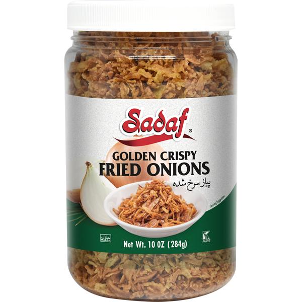 Sadaf Fried Onions Golden Crispy 10 oz.