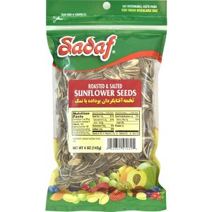 Sadaf Sunflower Seeds Roasted & Salted 4 oz.
