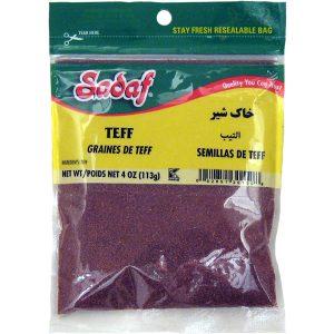Sadaf Teff Whole Grain (Khak Shir) 4 oz.