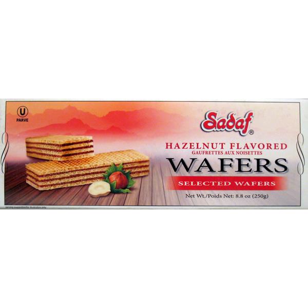 Sadaf Wafer Hazelnut 250 g