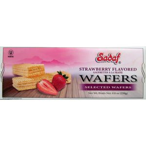 Sadaf Wafer Strawberry 250 g