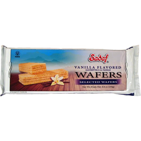 Sadaf Wafer Vanilla 250 g
