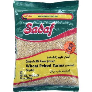 Sadaf Wheat Pelted crushed- Yarma 16 oz.