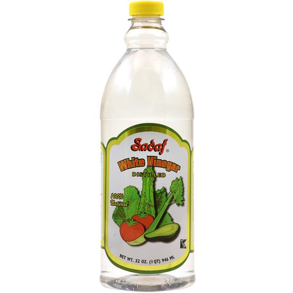 Sadaf White Vinegar Distilled 100% Natural 32 oz.