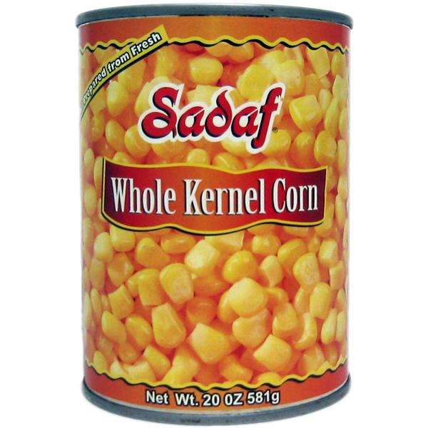 Sadaf Whole Corn Kernels 20 oz.