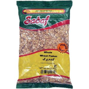 Sadaf Whole Wheat Flakes 14 oz.