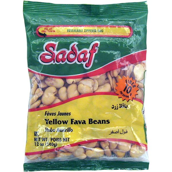 Sadaf Yellow Fava Beans - Baghala 12 oz.