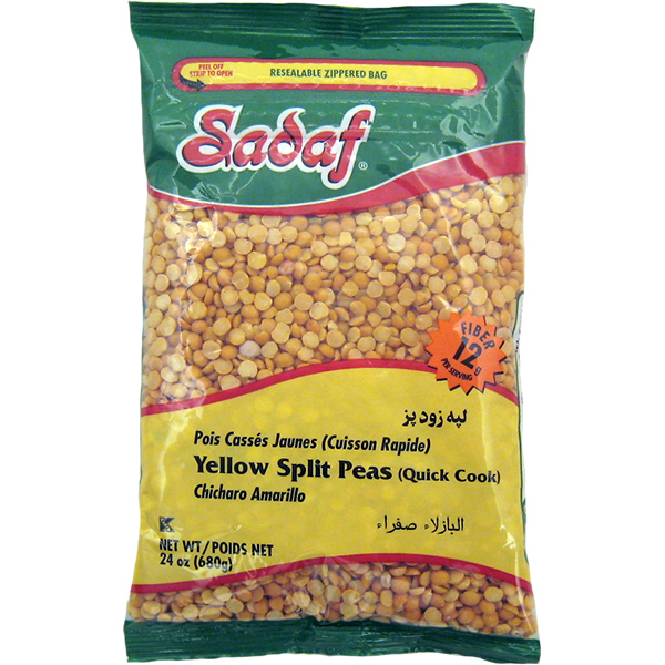 Sadaf Yellow Split Peas 24 oz.