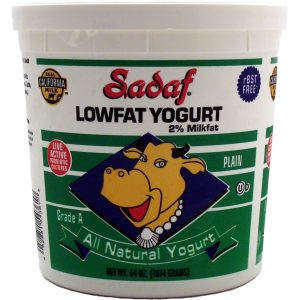 Sadaf Yogurt Low Fat 64 oz.