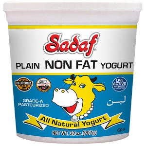 Sadaf Yogurt Non Fat 32 oz.