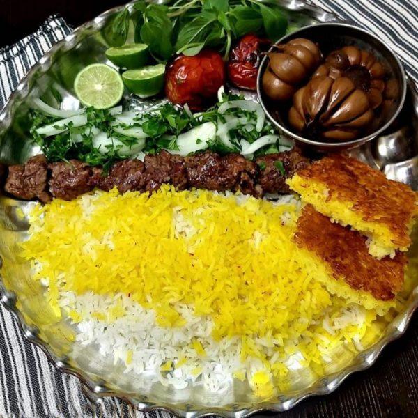 Chelow Kabab Chenjeh