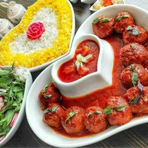 Koofteh Rizeh (Persian Meatballs)