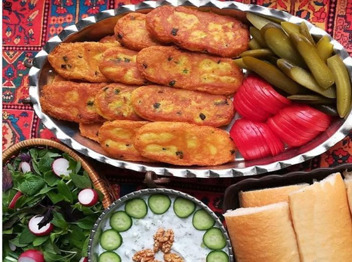 Persian Potato Pattie