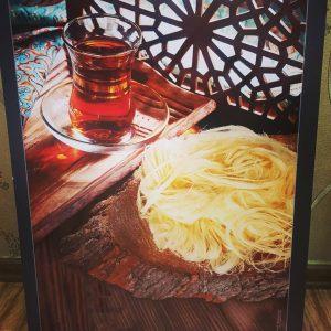 Pashmak and Tea