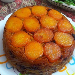 Potato Tahdig With Reshteh
