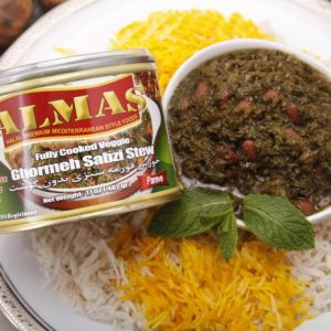 Ghormeh Sabzi Stew With No Meat