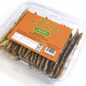 Sangak Bread Crisps With Multiseed